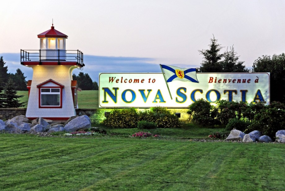 Nova Scotia welcome